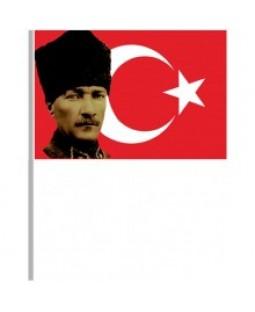 Elden Sallamalı Bayraklar - 008