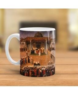 Osmanlıda Selamlık Tasarımlı Kupa Bardak