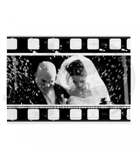 Kişiye Özel Puzzle 99 Parça Film Kolajı