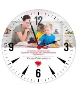 Canım Öğretmenim - Cam Duvar Saati
