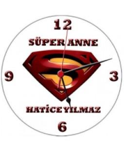 Süper Anne Duvar Saati