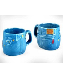 Jean Pantolon Tasarımlı Kupa Bardak