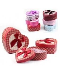 Kalpli Hediye Kutuları (3lü Set)