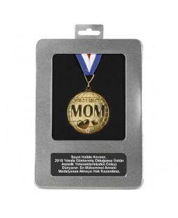 Kişiye Özel Dünyanın En Mükemmel Annesi Madalyası