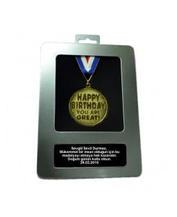 Kişiye Özel Doğumgünü Madalyası