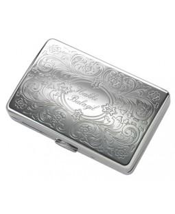 İsme Özel Çelik Sigara Tabakası bms374 - Yeni Model - Uzun Sigara İçin