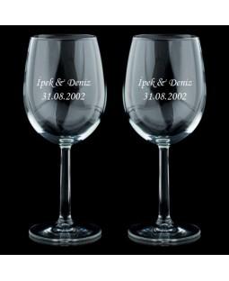 Şarap Kadehi, İsme Özel Tarihli